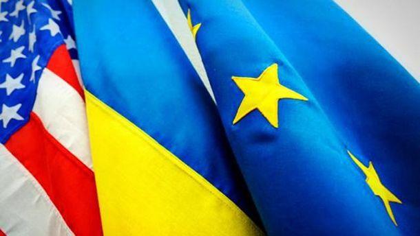 Страны Запада и Украины