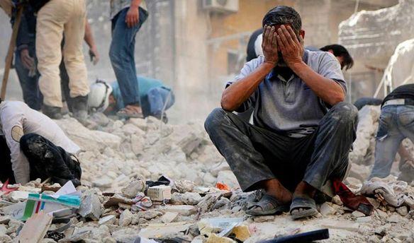 Страшна війна у Сирії