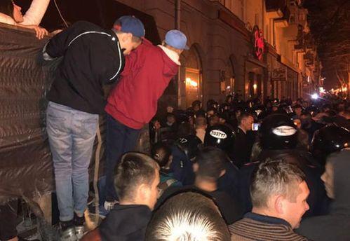 Полиция задержала участников стычки в Полтаве