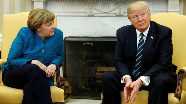 Меркель і Трамп обговорили ситуацію на Донбасі
