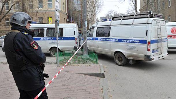 Последствия взрыва в Ростове-на-Дону