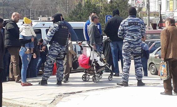 Задержание в Симферополе