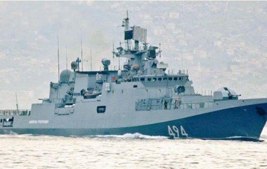 Россия срочно отправила свои военные корабли в Сирию