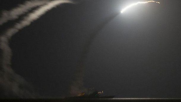 Ракетный обстрел США