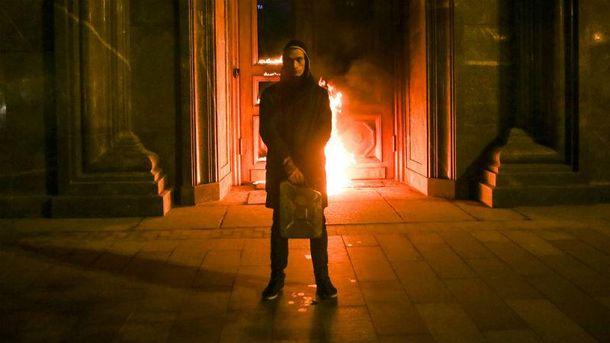 Підпал дверей будівлі ФСБ