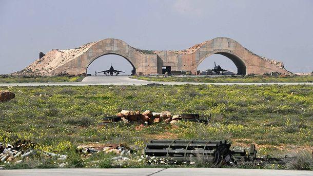 Авіабаза у Сирії