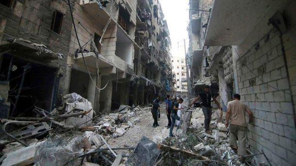 Атаки в Сирии