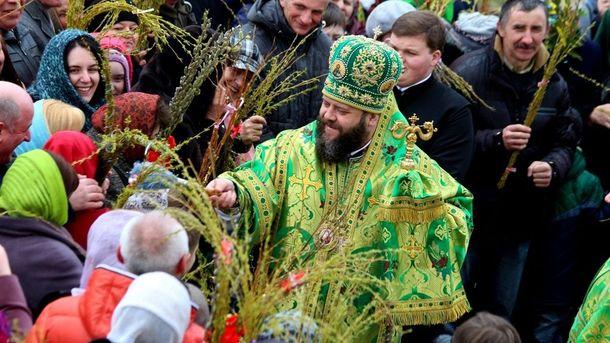 9 квітня українці святкуватимуть Вербну неділю