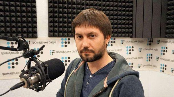 Журналист Антон Наумлюк