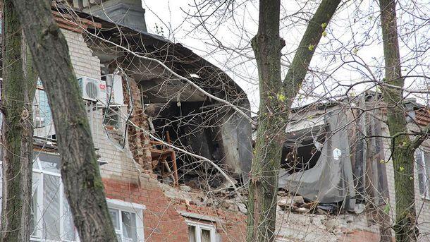 Наслідки вибуху у Таганрозі