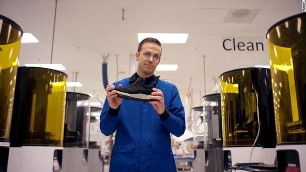 Кросівки, видрукувані на 3D-принтері