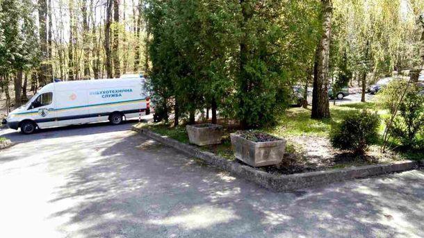 Саморобний вибуховий пристрій знайшли на вулиці Тернопільській