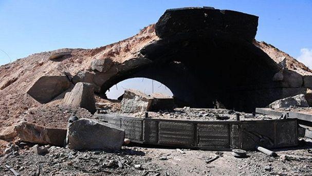Ракетный удар США по авиабазе в Сирии