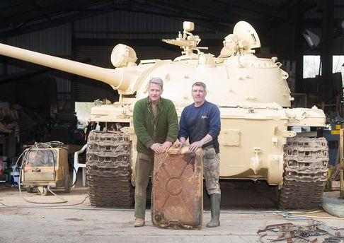 Коллекционер нашел золото в старом танке