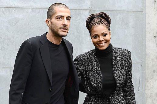 Джанет Джексон со своим мужем