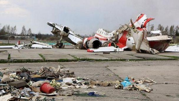 Авіакатастрофа Ту-154  під Смоленськом