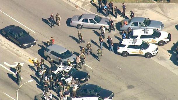 Стрельба произошла в школе в Сан-Бернардино