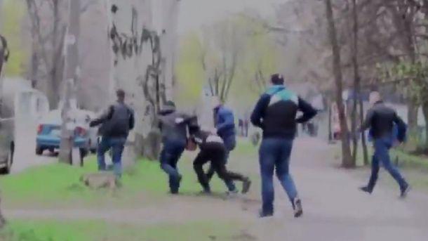 Затримання бойовика в Запоріжжі