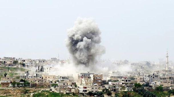 Бомбардировки Сирии