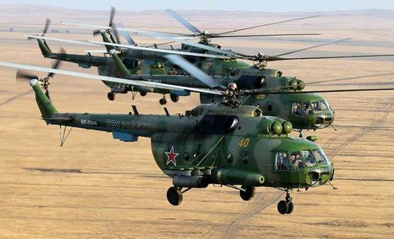 Переговоры российского вертолета Ми-8 МТПР-1 перехватили украинцы