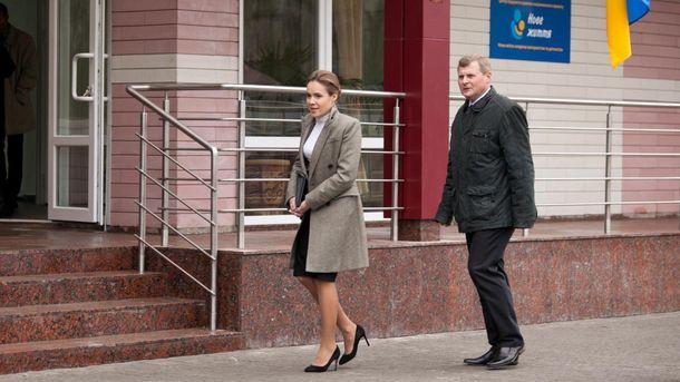 Наталья Королевская любит стильный наряд