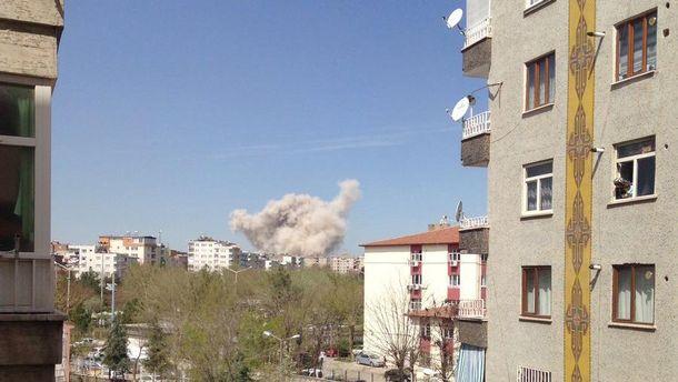Мощный взрыв в очередной раз прогремел в Турции