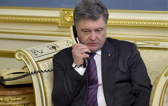 Порошенко поговорил с Тиллерсоном об отношениях с Россией