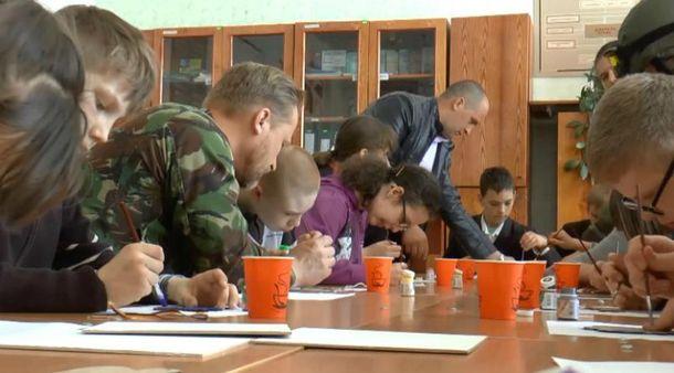 Військові та діти