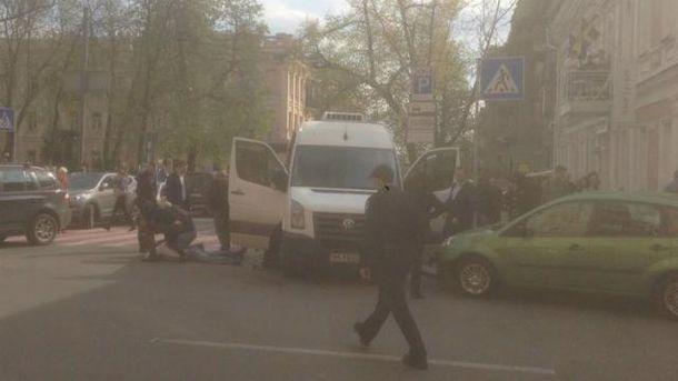 В центре Киева спеоперация СБУ
