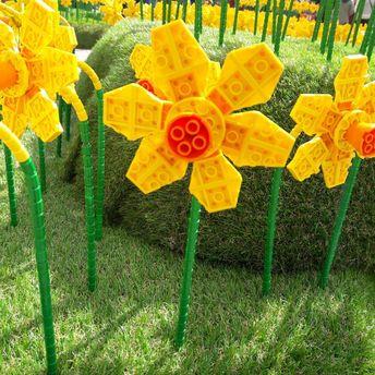Цветы из Лего