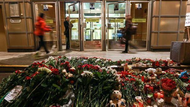 Внаслідок вибуху в петербурзькому метро побільшало загиблих