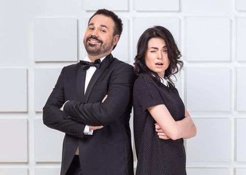 Антон Лірник із дружиною Мариною