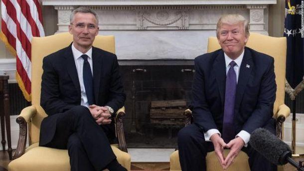 Столтенберг и Трамп встретились
