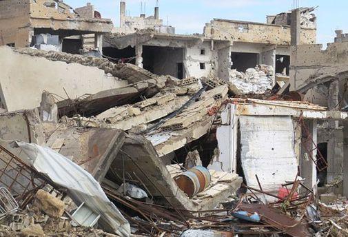 Захід атакував склади хімзброї в Сирії
