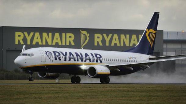 Ryanair из Украины в Лондон полетит раньше