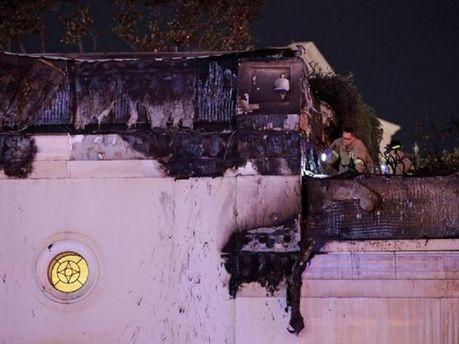 Пожар в отеле-казино Bellagio