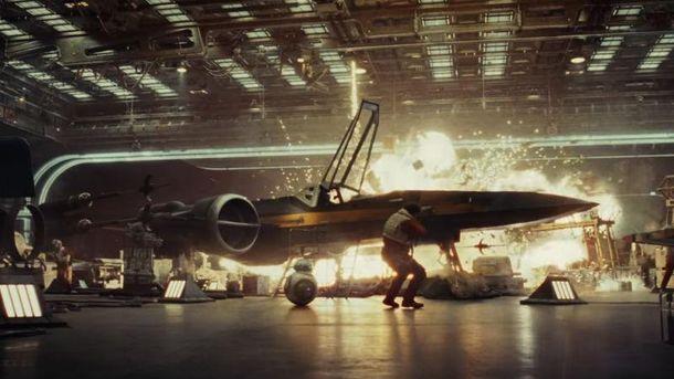 Кадр із першого  трейлеру восьмого епізоду Star Wars