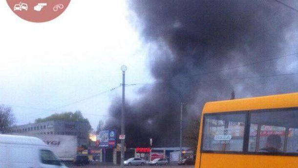 Пожежа в Києві