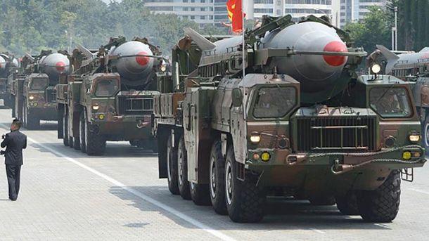 Північнокорейські балістичні ракети