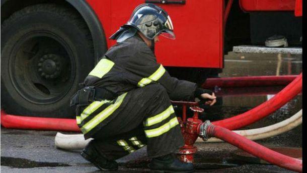 Работник пожарной службы