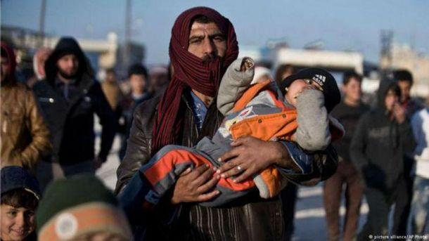 Тысячи сирийцев застряли в Алеппо