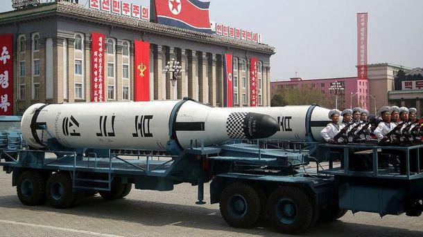 Новая корейская межконтинентальная баллистическая ракета