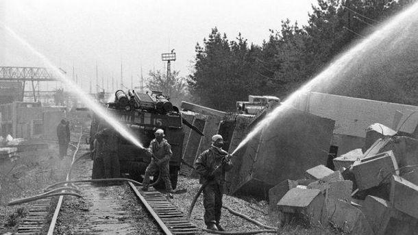 Стипендии пожарным, которые тушили огонь на ЧАЭС
