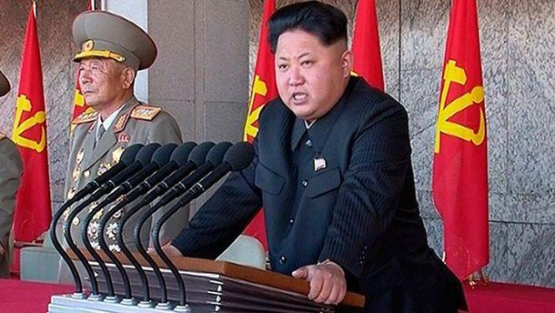 Лиден КНДР Ким Чен Ын