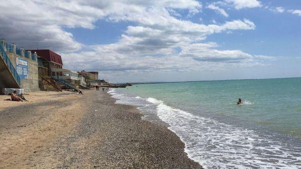 Безлюдные пляжи оккупированного Крыма