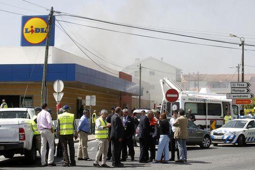 Самолет упал в Португалии