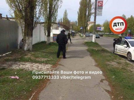 Затримання злочинців у Києві