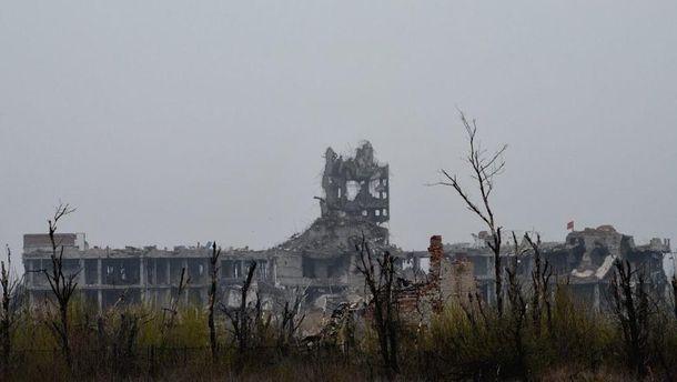 Руины Донецкого аэропорта сейчас