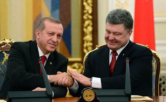 Порошенко провел разговор с Эрдоганом