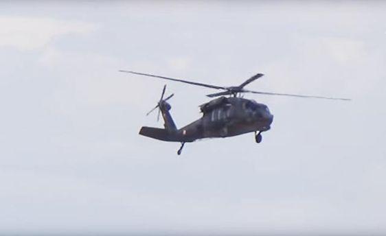 Опубліковані кадри з місця катастрофи поліцейського вертольота в Туреччині